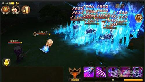 图5:《魔灵幻想》冰雪女王冰封技能展示.jpg