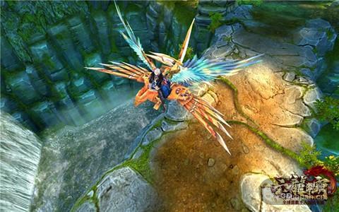 (图6)《六龙争霸3D》首款飞行坐骑(1).jpg
