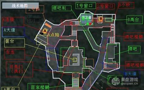 CF手游鹰眼地图有哪些技巧 打法分析