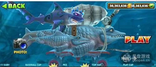 饥饿的鲨鱼 进化中文破解版沧龙可以吃掉皱鳃鲨吗 游戏攻略