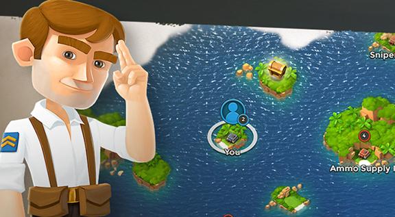 海岛奇兵潜水点及水晶掉率机制