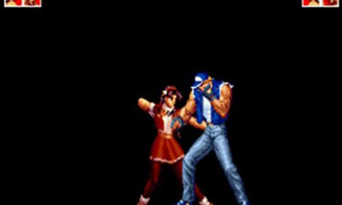 《拳皇97ol》主角另类演绎 特瑞中二美女性感扑街