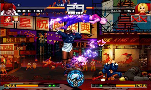 《拳皇97》高清对战版  最巅峰的移动电竞体验