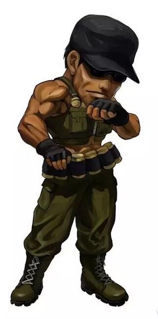 《拳皇97OL》Q版漫画之怒之队